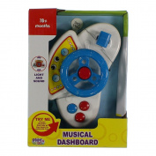 Musical Dashboard Various Colour Steering Wheel