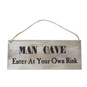 Gisela Graham Man Cave Sign Plaque , great gift for Father's Day