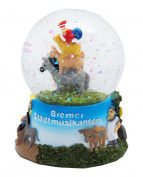 30038 Fairy Tale Town Musicians of Bremen Snow Globe 65 mm