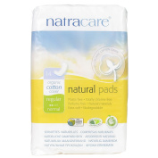 THREE PACKS of Natracare Maxi Pads Regular 14s