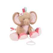 Nattou Charlotte & Rose Musical Rose The Elephant