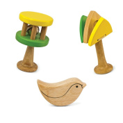 Green Tones Toddler Musical Instruments Set