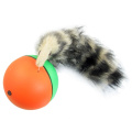 Click Down Plastic Fur Chaserball Weasel Ball Toy for Pets Children