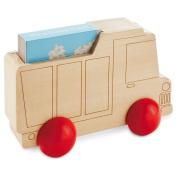 Hallmark Wooden Toy Dump Truckwith Book BBY4604