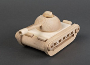 Wooden handmade childrens eco toy tank gift ideas for kids