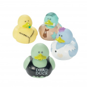 12 pc Vinyl Zombie Rubber Duckies by FX