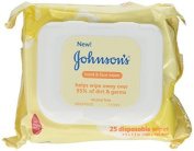 Johnsons Baby Hand and Face Wipes, 25-count (Pack of 3) by Johnson's Baby