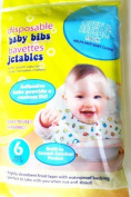Disposable Baby Bibs - Package of 6 by Greenbrier Int'l, Inc.