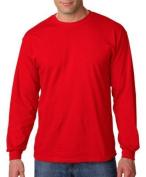 GILDAN G5400 Heavy CottonTM 160ml Long-Sleeve T-Shirt - RED - XL by Gildan