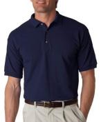 Gildan 2800 100% Cotton Jersey Polo - Navy - XL by Gildan