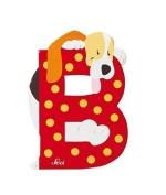 SEVI 1831 - Graffiti Animals - Letter B basset hound (81602) by Sevi