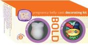 Proudbody Pregnancy Belly Cast Decorating Kit, Bold by ProudBody, Inc.