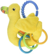 North American Bear Pond Pets Duck Ring Toy, Yellow by North American Bear