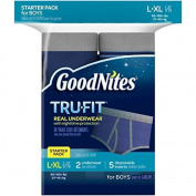 GoodNites Tru-Fit Starter Kit Boy, Large- X-Large by GoodNites