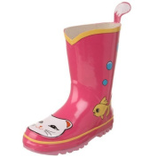 Kidorable Lucky Cat Rain Boot (Toddler/Little Kid) by Kidorable