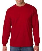 Gildan G5400 Heavy Cotton TM Long Sleeve T-Shirt, Cardinal Red by Gildan