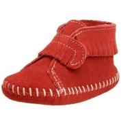 Minnetonka Front Strap Bootie (Infant) by Minnetonka