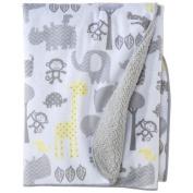 CircoAR Soft Valboa Baby Blanket - Zigs n Zags by Circo