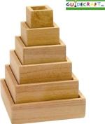 Guidecraft Stacking Rainbow Pyramid G5066 by GuideCraft