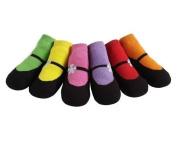JazzyToes Bright Mary Janes Baby Socks by Jazzy Toes