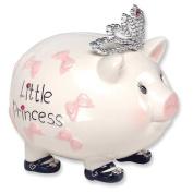 Mud Pie Baby Little Princess Tiara Piggy Bank (Discontinued by Manufacturer) by Mud Pie