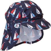 Jojo Maman Bebe Baby Boys' Boys' Flap Hat by JoJo Maman Bébé