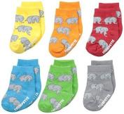 Trumpette Unisex-Baby Newborn Ellie Elephant Socks by Trumpette