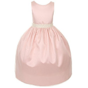 Kids Dream Blush Pink Pearl Special Occasion Dress Toddler Girl 2T-4T by Kids Dream