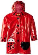 Kidorable Little Girls' Ladybug Raincoat, Red, 2T by Kidorable