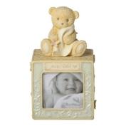 Enesco Foundations Baby Block Photo Bank by Enesco