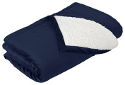 Port Authority Mountain Lodge Blanket, Navy Eclipse, OSFA by Port Authority