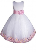 AMJ Dresses Inc Big Girls' Wedding Flower Girl Pageant Dress by AMJ Dresses Inc