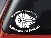 Star Wars 'My Other Ride Is The Millennium Falcon' - Vinyl Decal - Car, Window, Wall, Laptop Sticker