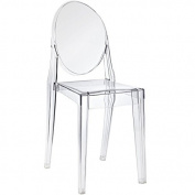 Starck Ghost Style Victoria Dining/Side Chair - Transparent