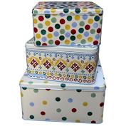Emma Bridgewater Polka Dot Set of 3 Square Cake Tins