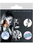 "GB eye ""Ariana Grande"" Mix Badge Pack, Set of 6, Multi-Colour"
