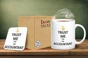 Trust Me I'm An Accountant Mug And Matching Coaster Set