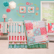 Mila 4 Piece Baby Crib Bedding Set by The Peanut Shell by The Peanut Shell