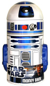 Star Wars Toy - R2-D2 18cm Shaped Tin Money Bank - Collectable Coin Collector