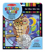 Melissa & Doug Stained Glass Made Easy Craft Kit