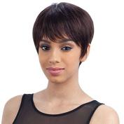 PINK BERRY (1B Off Black) - MilkyWay Brazilian Remy 100% Human Hair Wig