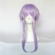 Hyperdimension Neptunia Neptune Purple 35cm Straight Short Cosplay Wig