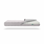 Newton Breathable Crib Mattress Cover -- Moonlight Grey