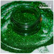 GlitterWarehouse Holographic Glitter for Eyeshadow / Eye Shadow Shimmer Makeup Green Envy