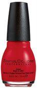 Sinful Colours Professional Nail Colour Polish #2193 Bitten (Red Cream) 15ml