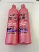 2 pck - Salon Selectives Moisture Renewal Conditioner 410ml
