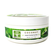 Coconut Neem Body Butter - Coconut Oil, Shea & Mango Butter - Natural, Intense Hydration - 120ml