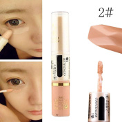 Concealer Pen Stick Cream Face Lip Eye Foundation Spot Blemish Natural Makeup Professional Dark Eye Hide Blemish Face 2#
