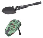 Pyle PHMDSH11 - Mini Metal Dedector Camp Folding Shovel