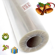 Tytroy 80cm 30m Gift Wrapping Clear Cellophane Roll for Gift baskets, Christmas Wrapping Arts and Crafts